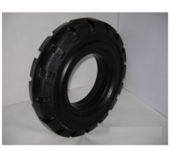 Rigid Solid Rubber Cushion Tyre