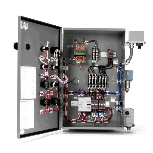 Three Phase Semi Automatic Control Panel, IP Rating: IP40, for PLC Automation