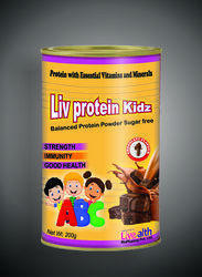 Liv Protein Kidz, Packaging Type: Container