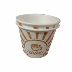 Disposable Printed Paper Coffee Cup, For Event, Capacity: 55 Ml