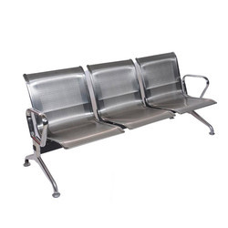 NF-200 3 Seater Stainless Steel Waiting Chair