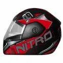 Abs Plastic Full Face Abp Nitro Helmet, Size: 580 Mm