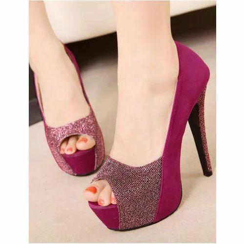 Designer Heels Sandal, Size: 35-41