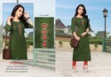 Hand Worked Cotton Kurtis For Ladies