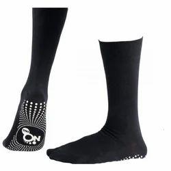 Pedder Johnson Gents Split Toe Black Anti-Slip Socks