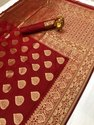 Banarasi Handloom Weaving Silk Saree