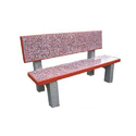 3 Seater Marble Bench