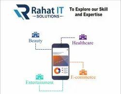 English,Hindi Offline & Online Rahat IT Solutions, Development Platforms: Android