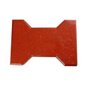 Red Rubber Mould Paving Blocks