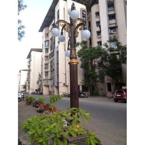 FRP 7 Light Lamp Post