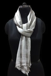 Wool Acrylic Check and Plaid Stoles