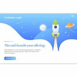 Responsive Landing Page Designing Services, With 24*7 Support