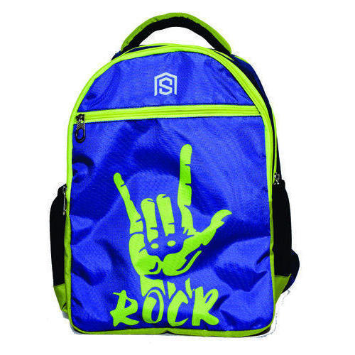 325d9c9496f3 Printed Polyester Blue School Bags
