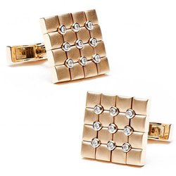 Diamond Cufflink