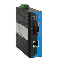 1-Port Industrial Gigabit Media Converter