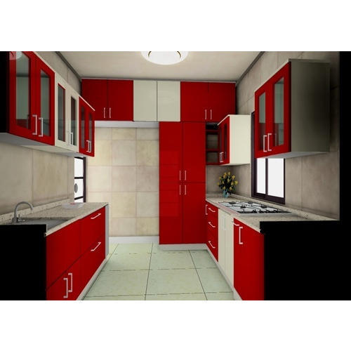 Parallel Modular Kitchen Warranty 1 5 Years Rs 85000 Unit Id