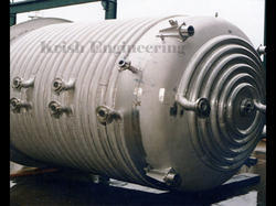 Stainless Steel Limpet Pressure Vessel