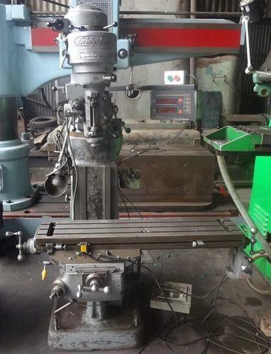 Bridgeport MNTR Knee Milling Machine with DRO - A1 Machine