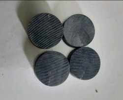 Natural Round Horn Button Blanks