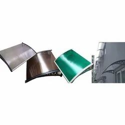Waterproof Polycarbonate Awnings