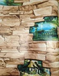 3D PVC Wallpaper for Home