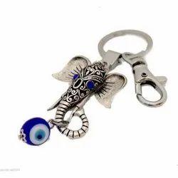 Evil Eye Ganesha Keychain, Size: 5-8 Cm