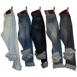 Casual Wear Faded Mens Jeans