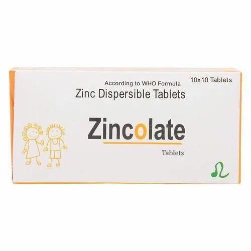 Zinc Acetate Tablet 10 X 10 Tablets Leo Nutriscience Id 19679203862