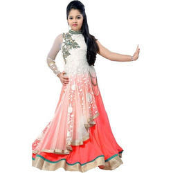 5a2e2be13a Georgette Wedding Wear Harsha Kids Designer Gown