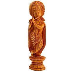 Krishna Carving Statue