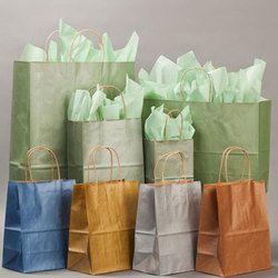 Metallic Kraft Paper Bags