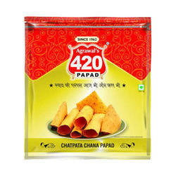 500 Gm Papad Packaging Pouch