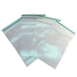 Double Zip Lock Bag