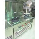 Silver Stainless Steel Industrial Chinese Range
