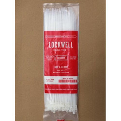 Lockwell Cable Tie 300 x 4.8 White