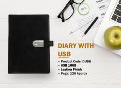 DIARY WITH USB 16GB