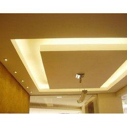 Gypsum Ceiling Work