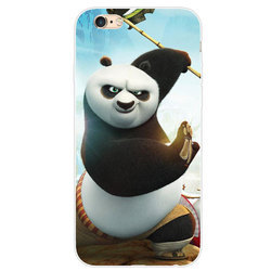 Multicolor Soft TPU Panda Printed Mobile Back Cover