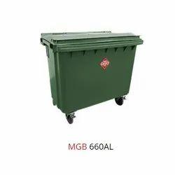 660 Litre Wheeled Bin