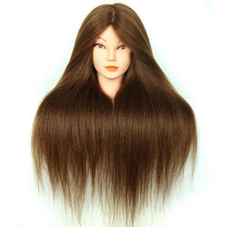 Professional 31 Inch Long and 100% Remy Human Hair Dummy