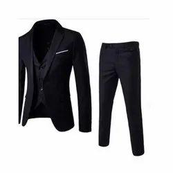 Formal Plain Mens Black Coat Pant, Size: S-XXL