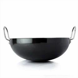 Hard Anodized Aluminium Kadai, For Cooking