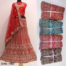Party Wear embroidary Designer net Lehenga Choli