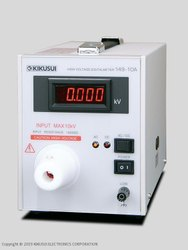 High Voltage Digital Voltmeter