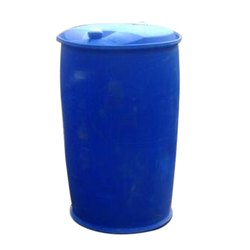 Blue Water Plastic Barrel, For Chemical