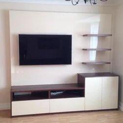 Brown LED TV Unit, Rs 1200 /square Feet, Vijay Interior | ID: 19185276955