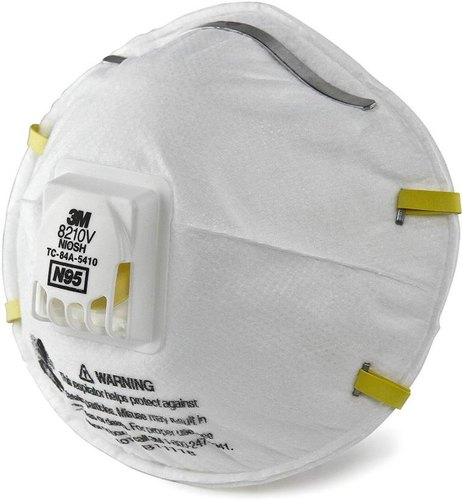 Respirator 8210 3m Pack N95 Disposable 10 Of