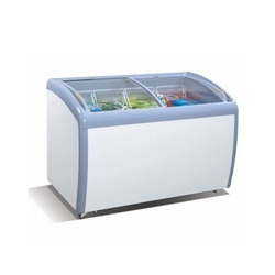 Curved Glass Freezer