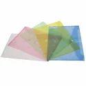 Single Pocket KS 209 Document Plastic File Folder