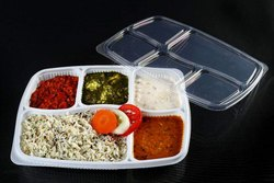 5 CP Spill Proof Meal Tray With Lid